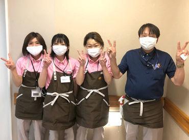 開設したばかりの新病院なので そのキレイな状態を保つ日常清掃です! モップがけや水拭きなど家事の延長感覚♪