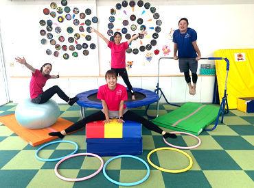 子どもと一緒に遊んだり運動したり♪ 「子ども達の笑顔と成長が何よりも嬉しいです!」 バイト⇒社員になったstaffも★