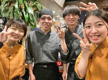 \松江駅から徒歩5分♪/ オシャレで新しい店内で みんな仲良く働いています!! バイトデビューさんもOK◎