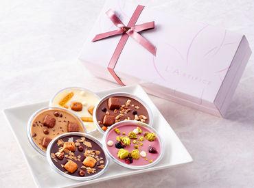 \もうすぐバレンタイン。*/ 可愛いくて美味しそうなお菓子がたくさん♪