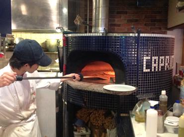 ≪おいしいまかない◎≫ 窯焼きピザを食べれちゃう★おいしいパスタも150円! しかも…社割で系列店が20%OFF♪友達と利用もOK◎