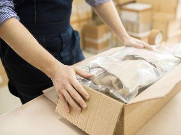 クリーニングした衣類の 保管倉庫で仕上がりのチェックや 保管用の包装作業など! 未経験でも安心のシンプル作業◎