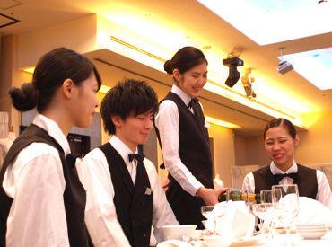 お客様の笑顔がやりがいに…◎ 憧れのブライダル業界にちょっと関われるチャンス♪ ココにも注目:入社祝い金1万円支給あり♪