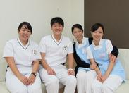 マナー研修やベテラン看護助手からのマンツーマン指導などなど…研修が充実しているので未経験の方でも安心して働けます!!