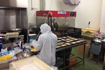 【軽作業Staff】製造業務(軽作業)兼調理補助業務をして下さる方の募集です。コツコツ作業が得意な方にピッタリ!20~50代の方が活躍中♪