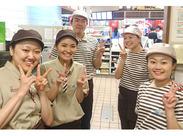 \店内はカフェみたいな雰囲気★/季節ごとの新商品が出るたびワクワク♪可愛いドーナツに囲まれて働ける!
