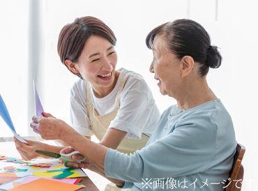 ★スタッフの声★ 『働くうちに介護の知識が身につきました!今後の親の介護に役立てそうです◎』