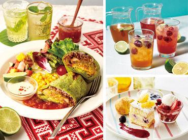 """【カフェSTAFF】◆心惹かれる、フォトジェニックなメニューがいっぱい!気分で選べるサラダやパスタに """"ふわとろ"""" のフレンチトーストも♪"""