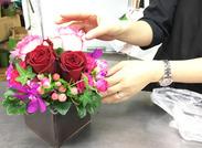 フラワーショップやお花のお稽古などの経験を活かして働きませんか?お花の良い香りに囲まれ、幸せな気分で働いていただけます♪