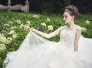 +★一生に一度の結婚式をサポート★+ お客様の愛のプロローグをサポート♪ 人を笑顔にすることが好き!そんな方大歓迎◎
