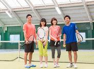 ★昨年7月にリニューアルOPENしたばかり★ フロント・テニスコーチ募集中!お気軽にご応募ください◎