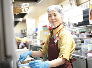【調理補助】「さと」が私のバイトデビュー!…お客様や仲間への気配り…効率の良い仕事の仕方全部ココで学びました♪