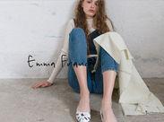 カワイイ靴を見てるだけで幸せな気分に♪人気の婦人シューズ【Emma francis】 ★未経験も、もちろん経験者も大歓迎です。