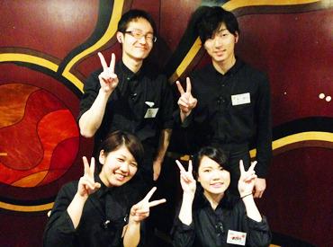 【ホール・キッチン】学生さん、フリーター必見!栞屋のお客様は30代〜のお客様が多く、ビジネスマナーはもちろん自身の成長に繋がるお仕事です◎