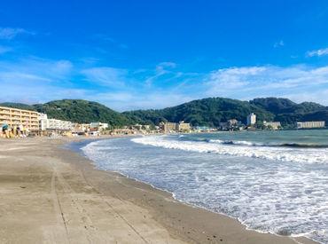 逗子海岸の海の家での巡回警備のお仕事★ JR逗子駅、京急逗子葉山駅からアクセス可能! ※こちらの写真はイメージです