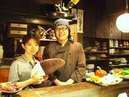 優しい女将さん(奥様)とオーナーが営む、暖かいお店