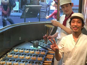 《店先でペコちゃんと一緒にお菓子作りしましょう♪初めての方も大歓迎です◎》面倒な履歴書もナシでOKです☆彡