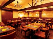 老舗高級ホテルが贈る洗練された空間◇◆*アンティーク調とNYのスタイリッシュさが融合する店内!