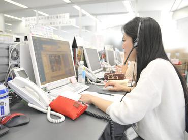 【コールセンター】未経験でも≪1300円!≫の高時給★お客様からの問い合わせ対応やPCへの入力など簡単ワークです♪週2/3h~で自由に働けます◎