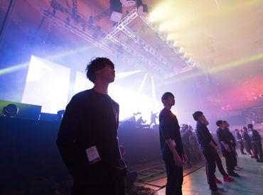 パワー ライブ コンサート スタッフ