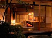 風情漂う、落ち着いた空間◎京都らしい雰囲気の中で働けますよ★お仕事は難しくないので、ご安心くださいね♪