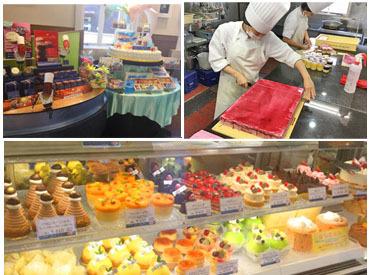 子ども時代憧れていたケーキ屋さんのスタッフに♪あなたの夢を叶えられるチャンスですよ★