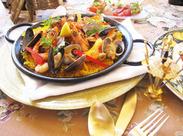 """パエリアやパスタ、アヒージョなど自慢のお料理◎デザートもこだわりの""""自家製""""!ゼロから料理を学びたい方も大歓迎♪♪"""