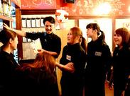 当店、チームワークが自慢デス( ˘ω˘)アナタにお会い出来るのを楽しみにしています♪