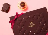 1926年にベルギーで誕生したプレミアムチョコレートのゴディバ。ギフトには最適♪
