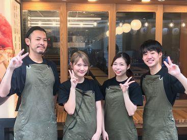 """【店舗スタッフ】/特別感のあるバイト、したくないですか?*。\東京文化の""""もんじゃ焼き""""をご提供!皆でワイワイ楽しく働こっ♪"""