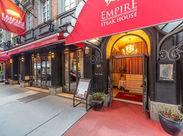 六本木で人気のステーキハウスでのお仕事♪ ≪Empire Steak House Roppongi★≫ 一緒に素敵なバイトを始めましょう♪