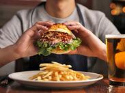 『CRAFT(手作り)』がコンセプト★CRAFT BBQ/パンケーキ/季節のフルーツカクテル etc今話題のアメリカンStyleの料理が大人気!