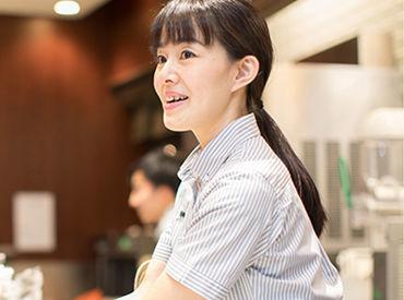 スタッフ割引で『ドリンク0円♪』 その他のメニューや系列カフェも割引ありで お仕事終わりの『おしゃべりタイム』もお得に◎