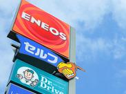 ≪ENEOSのセルフスタンドSTAFF≫ セルフだから給油の作業はありません!車の知識がないという方も大丈夫ですよ♪