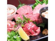 オーナーのこだわりで、お肉は全てA4以上の和牛! 「本当に美味しいお肉が食べられる」と評判のお店◎まかないも毎回楽しみ…♪
