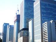 清掃スタッフなのにトイレ掃除なし!! 東京ミッドタウン内の綺麗なオフィスの清掃◎ シンプルな分別や掃除などがメイン*+。