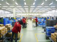 パート社員が約60名在籍している大きな物流センターです!スタッフさんが働きやすいよう、シフトや職場環境を整えています♪