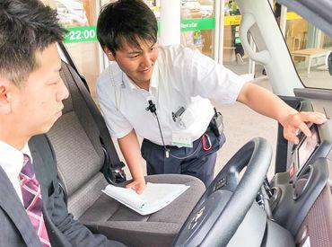 《未経験さんOK》 車の免許取りたて&AT限定でもOK!! 運転技術に自信がない方も大歓迎です! しっかり丁寧にお教えします。