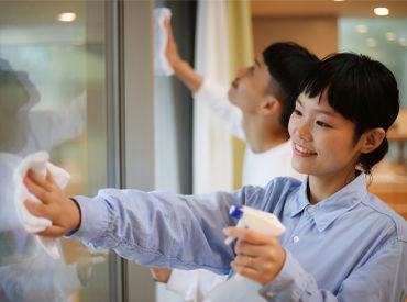 特別なスキルは必要ありません♪ 大田区近郊にある、当社管理物件の清掃のお仕事です◎ ※写真はイメージ