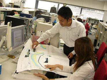まずはカンタンな書類のコピーなどをお任せ☆綺麗なオフィスで、整理整頓された環境♪仕事に集中できます◎