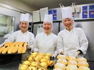 \未経験歓迎!/ パンやサンドイッチの製造は 簡単です!料理未経験でもOK♪ スグに慣れますよ★