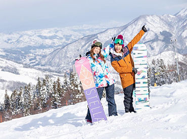 最高のロケーションでリゾートバイト☆この冬は神立スノーリゾートで充実の日々を過ごしましょう!友達との応募も歓迎です。