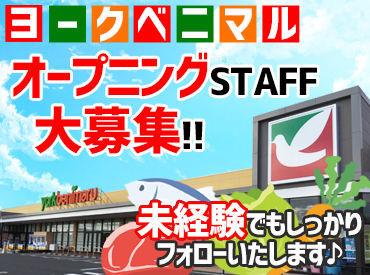 \オープニングスタッフ大募集★/ 新しいキレイな店舗で 一緒にお仕事しませんか♪