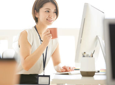 長期勤務出来る方歓迎!女性が多く活躍中★ 安定して働きたい方に◎社員登用もあり!(写真はイメージです)