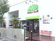 女性に人気のハワイアンCafe…♪国道19号線沿いの通勤便利な立地です!