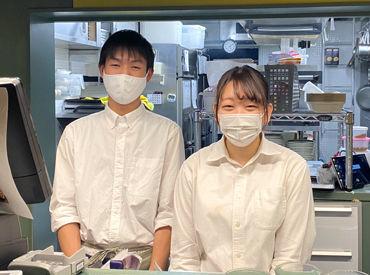 デザートやパスタ、オムライスetc. 美味しいカフェごはんでお客様を笑顔に+* 調理の勉強をしている学生さんも歓迎です★