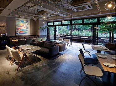 【レストランSTAFF】\8月にオープンしたばかり♪/第2期オープニングメンバー大募集♪自然に囲まれた新しいホテル内で働こう!