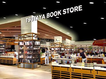 ★人気タリーズが併設したオシャレなTSUTAYA★ ワイプラザ新保店2階にオープンしました◎ キレイな店舗でバイトデビュー♪