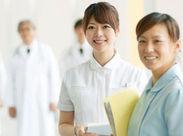 病院の環境整備や清潔援助などを行う看護補助のお仕事です。 資格や経験が無い方も【高時給1100円】スタート可能♪