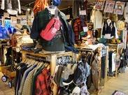店内には幅広~い商品がズラリ! 様々な商品知識が身につくので やりがいもバッチリ★ ゼロからしっかりサポートします!!